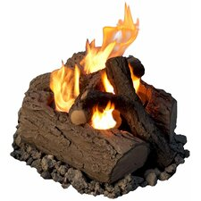 <strong>Real Flame</strong> 4-Can Outdoor Log Set