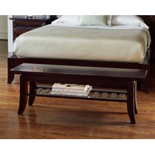 <strong>Brownstone Furniture</strong> Bancroft Cherry Bedroom Bench
