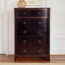 Metropolitan 5 Drawer Highboy