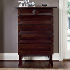 <strong>Brownstone Furniture</strong> Bancroft 6 Drawer Highboy