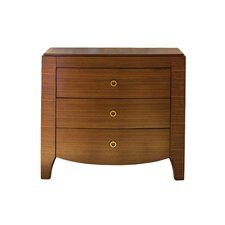 Mercer 3 Drawer Nightstand