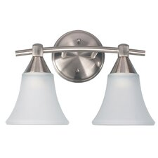 <strong>Canarm</strong> Grace 2 Light Bath Vanity Light