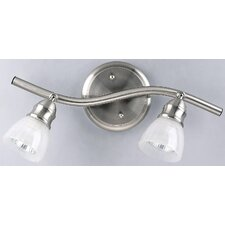<strong>Canarm</strong> Stardust 2 Light Head Vanity Light