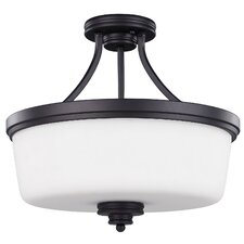 <strong>Canarm</strong> Jackson 3 Light Semi-Flush Mount