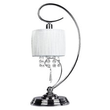 """Michele 19"""" H Table Lamp with Drum Shade"""
