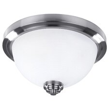 Portia 2 Light Flush Mount