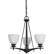 New Yorker 3 Light Chandelier
