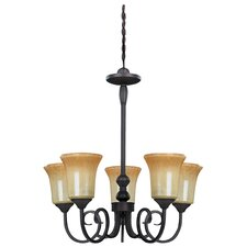 <strong>Canarm</strong> Victoria 5 Light Chandelier