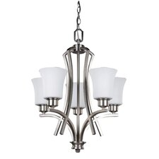 Royal Flamenco 5 Light Chandelier
