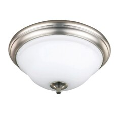 <strong>Canarm</strong> Royal Flamenco 2 Light Flush Mount