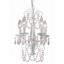 <strong>Canarm</strong> Danica 5 Light Chandelier