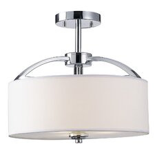 Milano 3 Light Semi-Flush Mount