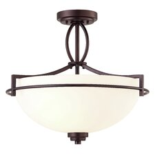 Miller 3 Light Semi-flush Mount