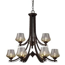 Cooper 9 Light Chandelier