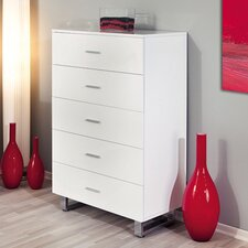 Alexa 5 Drawer Chest