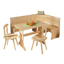 Tirol Corner Dining Set in Solid Pine