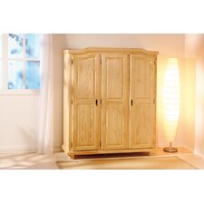 Bern Three Door Wardrobe in Natural
