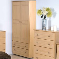 Corrib Wardrobe with 2 Drawer