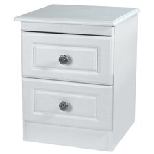Pembroke 2 Drawer Bedside Table