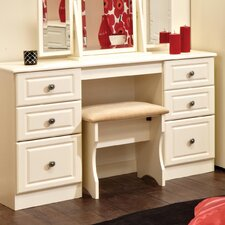 Pembroke Kneehole Dressing Table