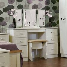 Coniston Kneehole Dressing Table Set