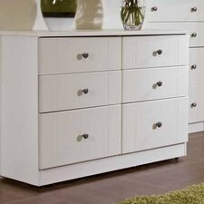 Kingston 6 Drawer Midi Chest