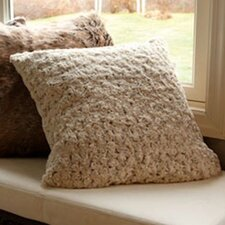 Rose Petal Faux Fur Pillow