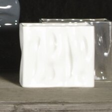<strong>Alex Marshall Studios</strong> Square Ripple Vase