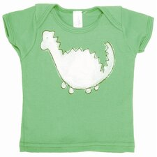 Dinosaur Lap T Shirt in Green