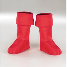 Captain America Child Boot Covers in Bright Red