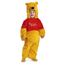 Winnie The Pooh Deluxe Two-Sided Plush Jumpsuit Costume
