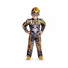 Bumblebee Toddler Muscle Costume