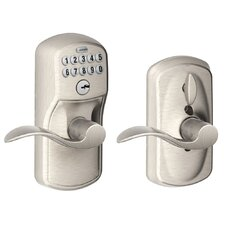 Plymouth by Accent Keypad Lever with Flex Lock