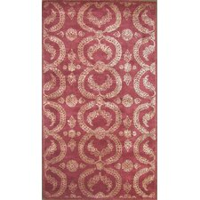 Cairo Red Area Rug