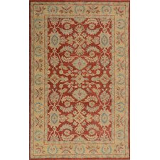 Windsor Red/Gold Rug