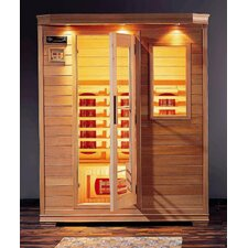 <strong>Steam Planet Corp</strong> 2 Person Ceramic FAR Infrared Sauna