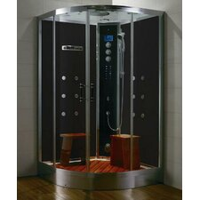 "<strong>Steam Planet Corp</strong> Royal Care 48"" x 48"" Neo-Angle Door Steam Shower"