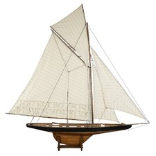 1901 Large America's Cup Columbia Model Boat