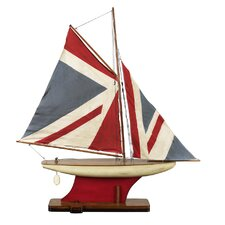 <strong>Authentic Models</strong> Union Jack Pond Model Yacht