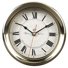 "<strong>Authentic Models</strong> 7.1"" Captain's Wall Clock"