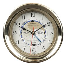 "7.1"" Captain's Time and Tide Wall Clock"