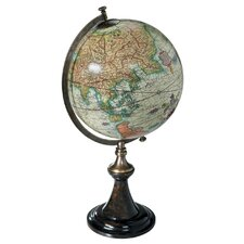 Classic Mercator Globe with Stand