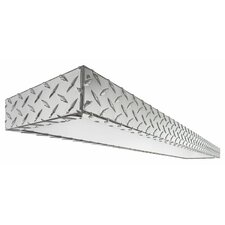 Diamond Plate 2 Light Decorative Linear