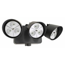 Dusk to Dawn 3 Head LED Floodlight