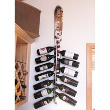 <strong>Ski Chair</strong> Snow 13 Bottle Wall Mounted Wine Rack