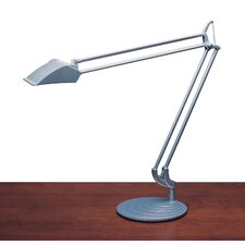 "Diffrient Double Arm 36"" H Table Lamp with Drum Shade"