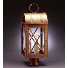 Adams 3 Light Post Lantern