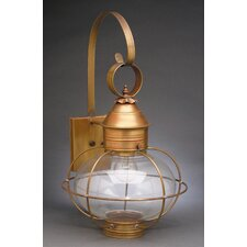 <strong>Northeast Lantern</strong> Onion 2 Candelabra Sockets Caged Wall Lantern