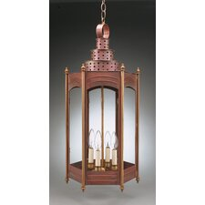 Hardwick Candelabra Sockets Large 4 Light Hanging Lantern