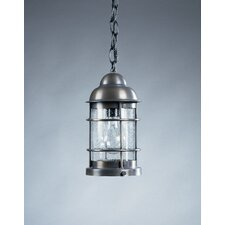 Nautical Medium Base Socket 1 Light Hanging Lantern